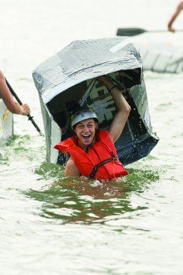 UConn ECE, Avery Point Cardboard Boat Race